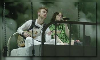 Billie Eilish lanza video en vivo para 'I Love You'