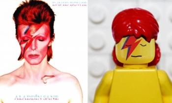 David Bowie en versión Lego