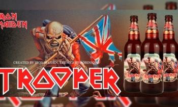 Iron Maiden lanzan edición especial de su cerveza 'Trooper'