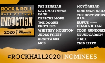 Salón de la Fama del Rock prepara ganadores de la clase 2020