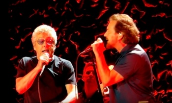 Eddie Vedder cantó junto a The Who en Wembley