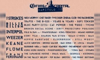 Corona Capital anuncia su line up para el Décimo Aniversario