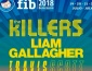 The Killers, Liam Gallagher y Travis Scott, headliners del FIB 2018