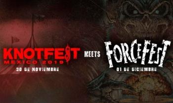 Slipknot confirman Knotfest Meets Force Fest en Ciudad de México