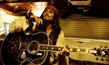 Johnny Depp, el actor guitarrista