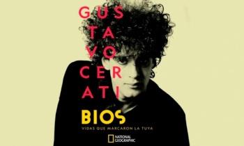 Benito Cerati realizó cover a Gustavo Cerati en la presentación de su documental