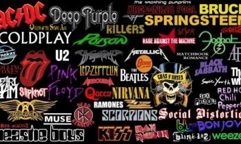 Los logos más famosos del Rock - 4a Parte