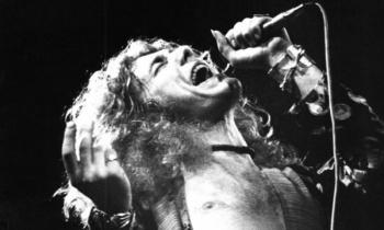 Robert Plant, el gran vocalista de Led Zeppelin