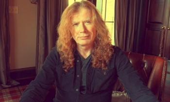 Dave Mustaine revela que sufre cáncer de garganta